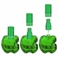 Флакон Эпл (20мл), зеленый + мет.спрей