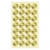 Стикеры на флаконы с номерами парфюмерии RENI