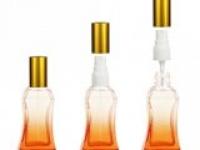 Флакон Беллини (25мл) оранжевый, пласт.помпа