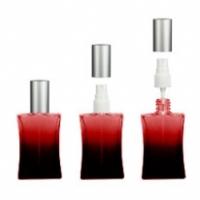 Флакон Дали (50мл) красный ,пласт.помпа+пласт.крышка
