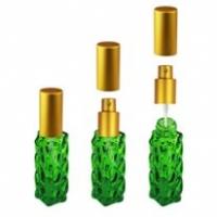 Флакон Гранат (20мл) зеленый + мет.спрей
