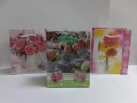 Подарочный пакет - ламинат (цветы)  mini  (8*10см)