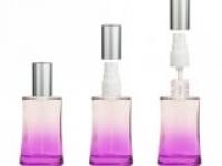 Флакон Ирис (30мл), фиолет, пласт.спрей