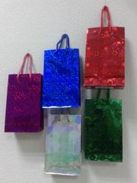 Подарочный пакет - голография(11*18) maxi